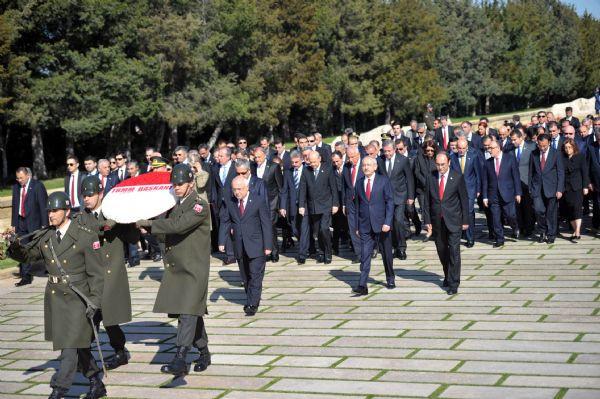 Başbakansız 23 Nisan töreni