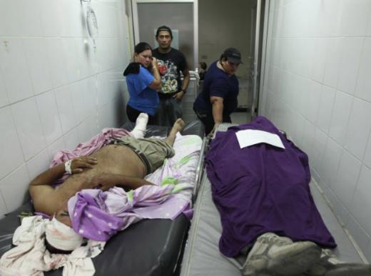 Dünyanın en şiddet dolu şehri San Pedro Sula, Honduras