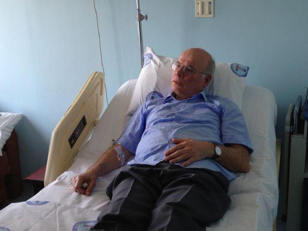 Tekin ve Karakaş hastanede