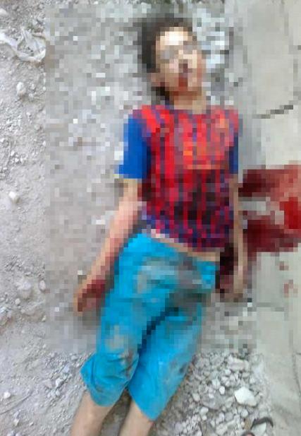 Esad bıçakla doğradı!