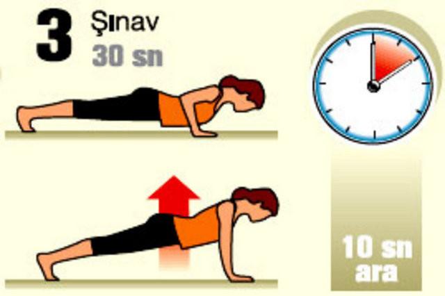 Diyeti bitiren 7 dakikalık egzersiz!