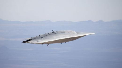 İşte X-47 B Savaş Uçağı