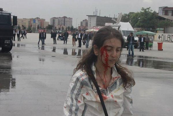ODTÜde kanlı Reyhanlı protestosu!