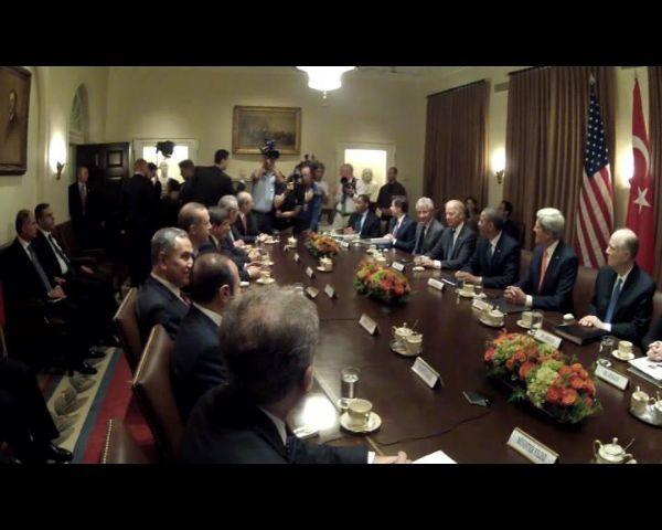 Tüm gözler Beyaz Sarayda