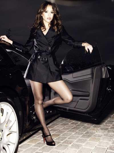 Jessica Alba, Gotham dergisinde