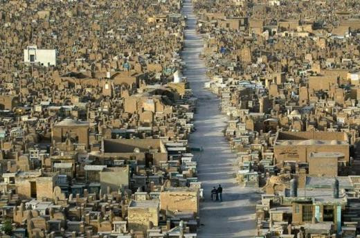Vadi el Selam mezarlığı