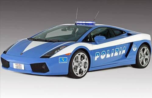 En hızlı polis arabaları...