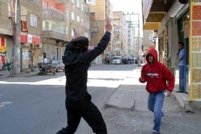 Diyarbakırda meydan savaşı!