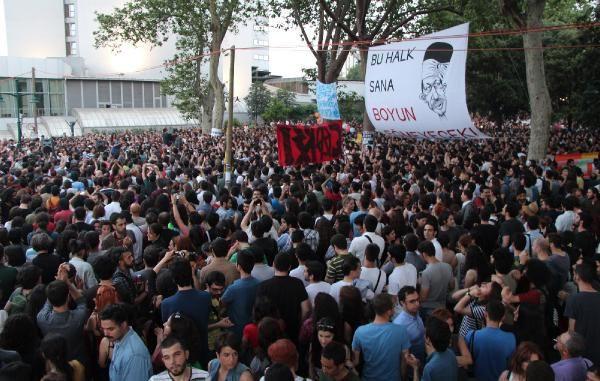 Gezi Parkında nöbet devam ediyor