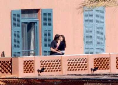 Penelope Cruz ve Javier Bardemin balkon kaçamağı