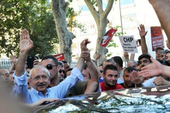 Kılıçdaroğlu Taksime gitti!