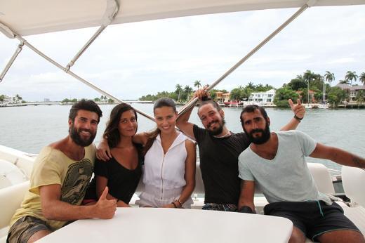 Survivor yarışmacıları Miamide!