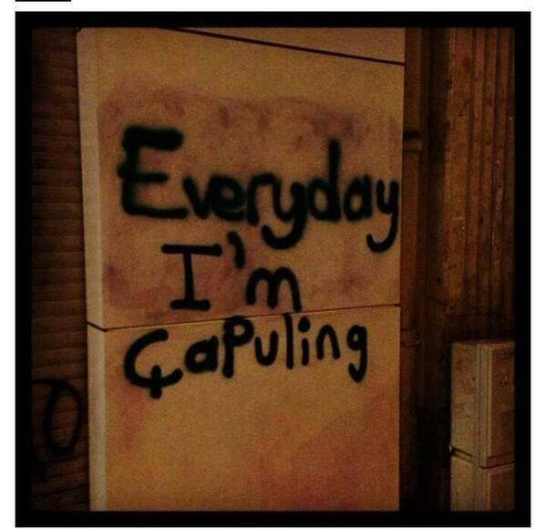 En yaratıcı Gezi Parkı fotoğrafları