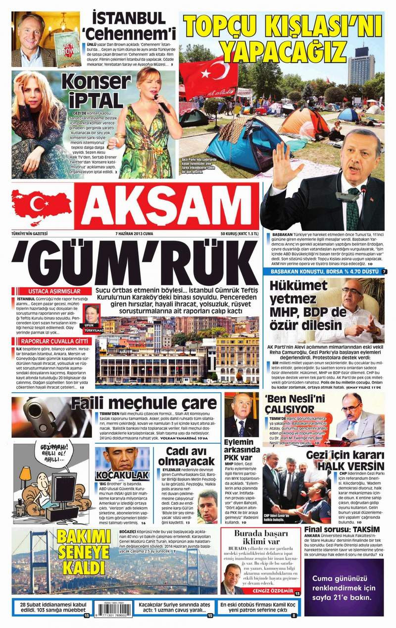 İşte gazetelerin Erdoğan manşetleri