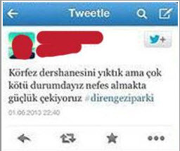 Gözaltına alınma sebebi olan tweetler