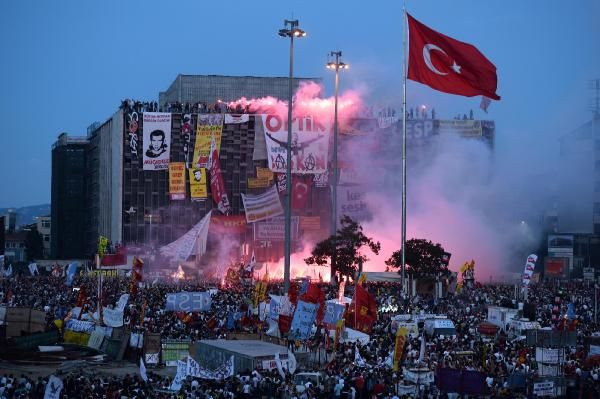 Taksim Taksim olalı böyle direniş görmedi
