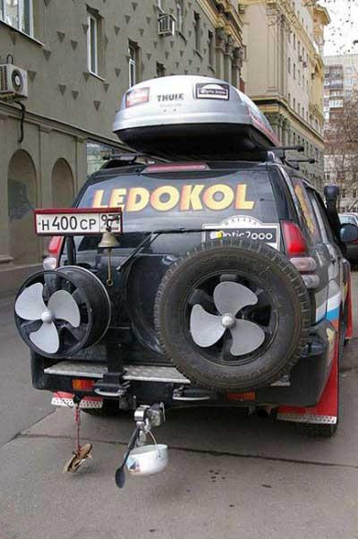 Farklı otomobil modifikasyonları (!)