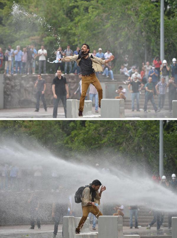Gezi olayları son 24 saatten en sıcak kareler