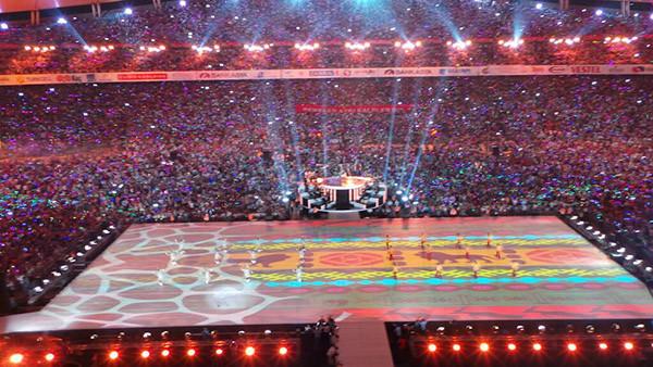 Türkçe Olimpiyatlarına muhteşem veda