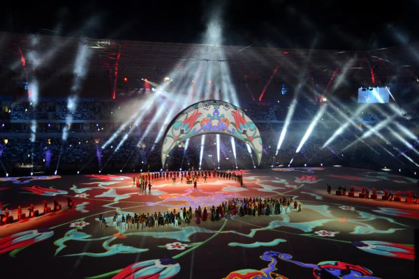 17'nci Akdeniz Oyunları Mersinde başladı