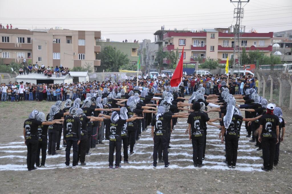 PKK Şırnakta asayiş birimleri kurdu