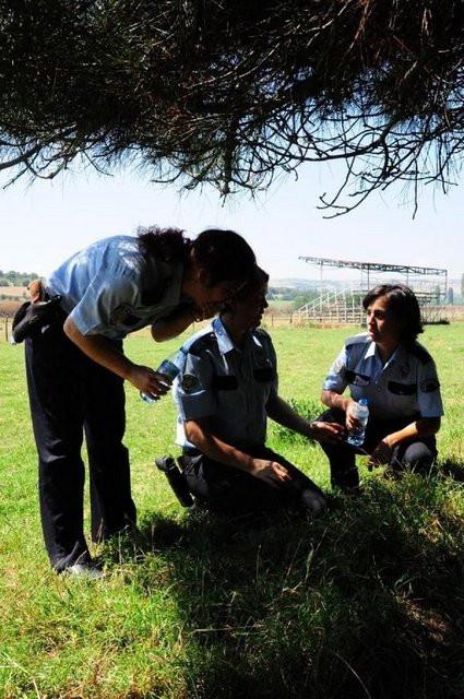 Bu kez polisler gaz yedi