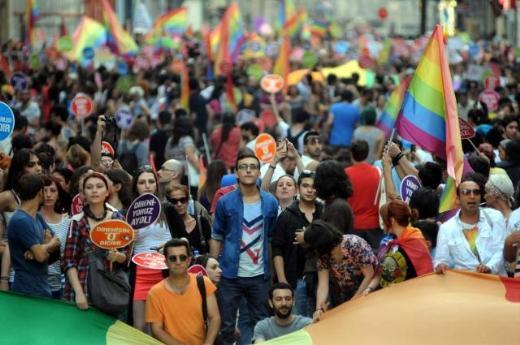 İstanbul LGT yürüyüşü