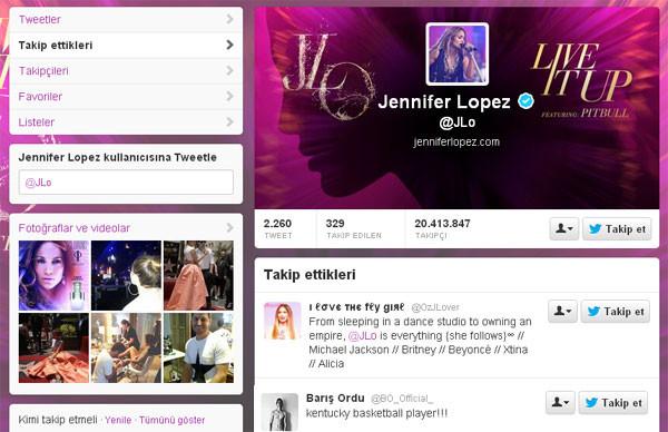 Jennifer Lopezin takibindeki Zonguldaklı