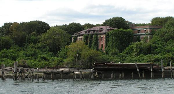 New Yorkun ortasında terk edilmiş bir ada