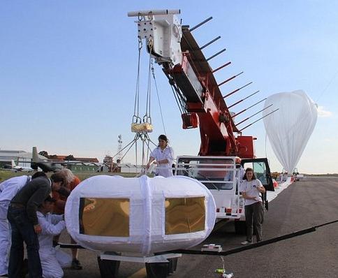 Balonla uzay yolculuğu