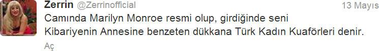 Sosyal medyanın Zerrini...