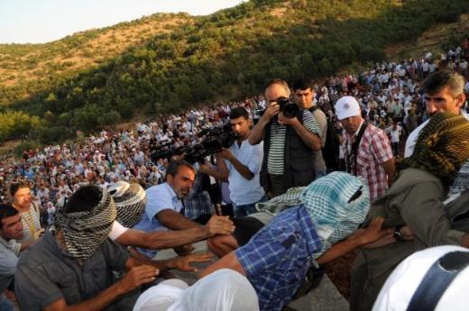 Licede PKK açılışı