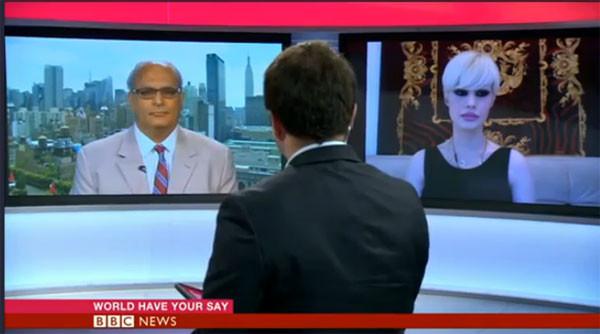 Adnan Hocanın kediciği BBCde