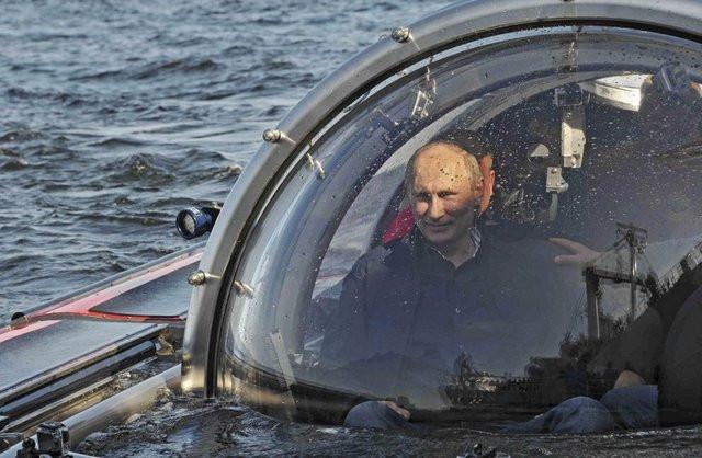 Putin keşifte