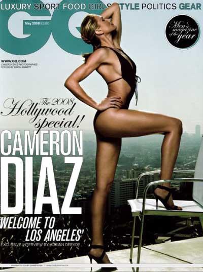 Cameron Diaz, GQ kapağında