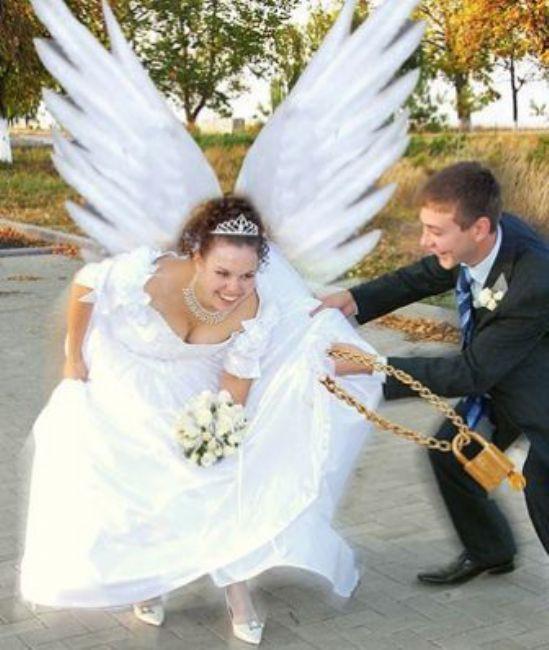 Dünyanın en komik düğün fotoğrafları