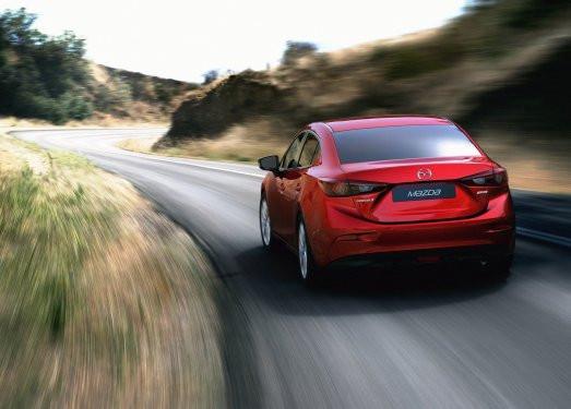 İşte yeni Mazda3 Sedan