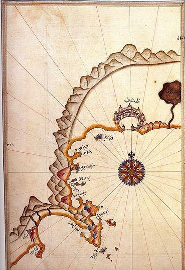 Pîrî Reisin Akdeniz dünyası