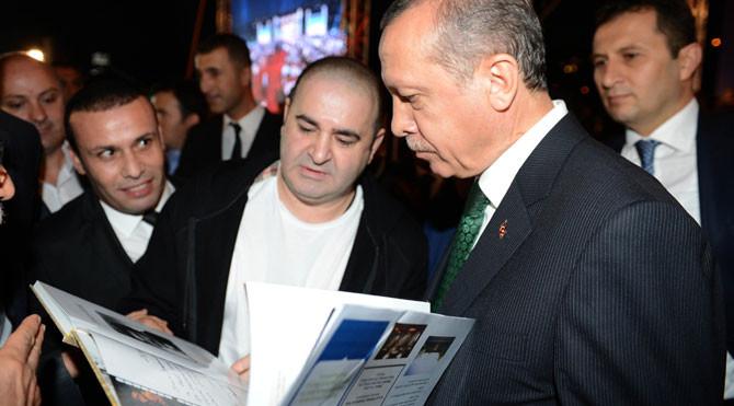 Erdoğan'ın iftarında ünlüler geçidi!