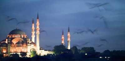 İstanbulda büyüleyici doğa olayı