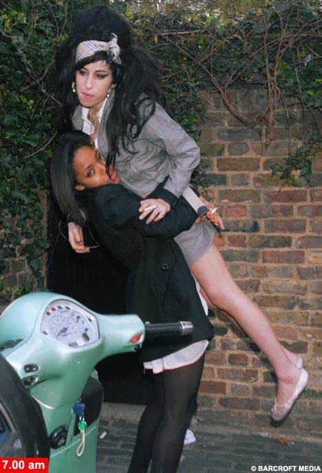 Yaşayan ceset, Amy Winehouse!
