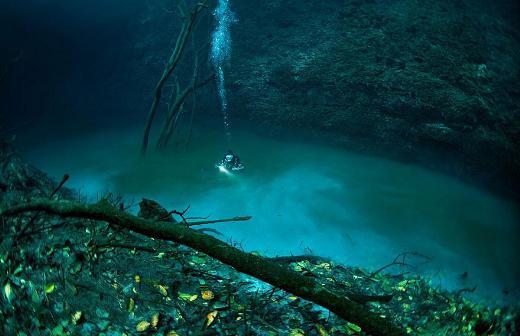 Okyanusta akan nehir