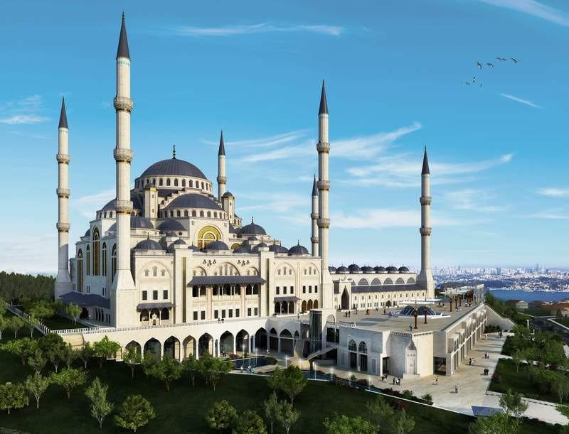 Çamlıca Tepesi Camii
