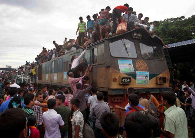 Bangladeşde bayram yolculuğu!