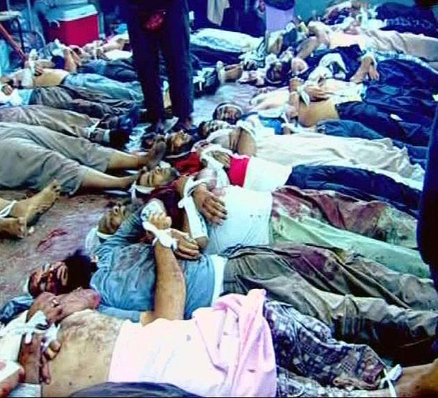 Mısırdaki katliamın şoke eden fotoğrafları