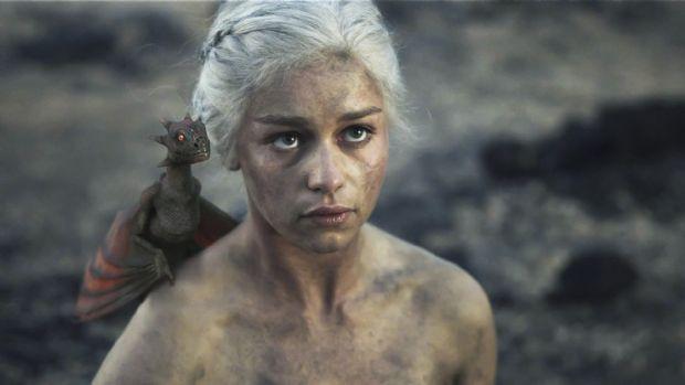 Khaleesi afiş oldu !