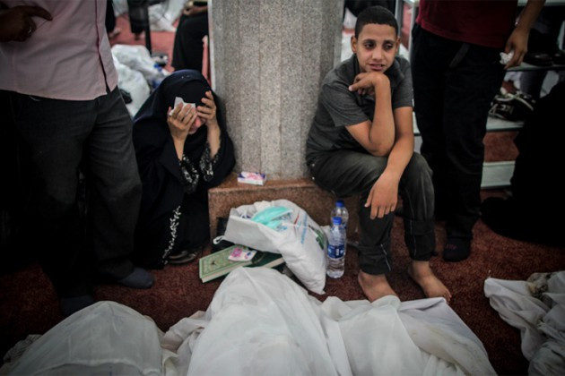 İşte Mısırdaki direniş ve katliamın fotoğrafları