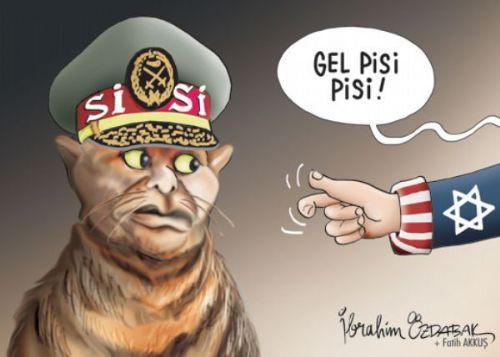 Mısır katliamının karikatürleri