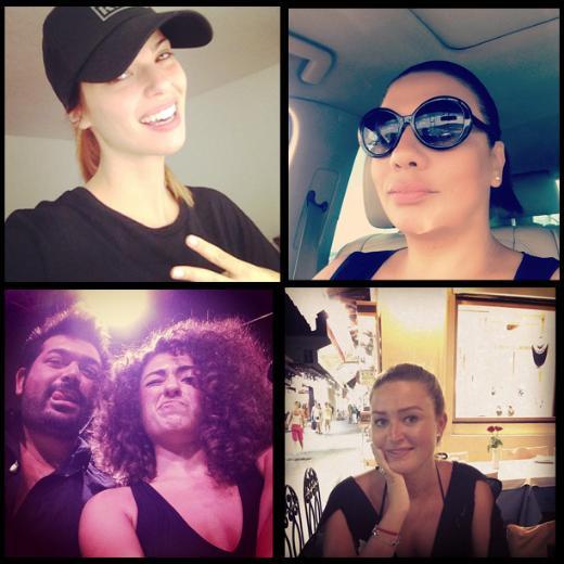 Ünlülerin instagram pozları
