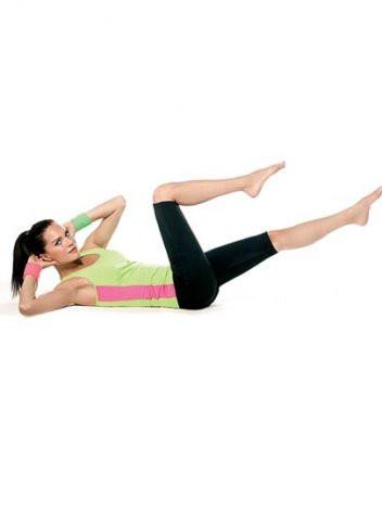 Hızla göbek eriten süper egzersizler
